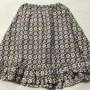 Gymboree Desert Flower Brown Purple Floral Skirt